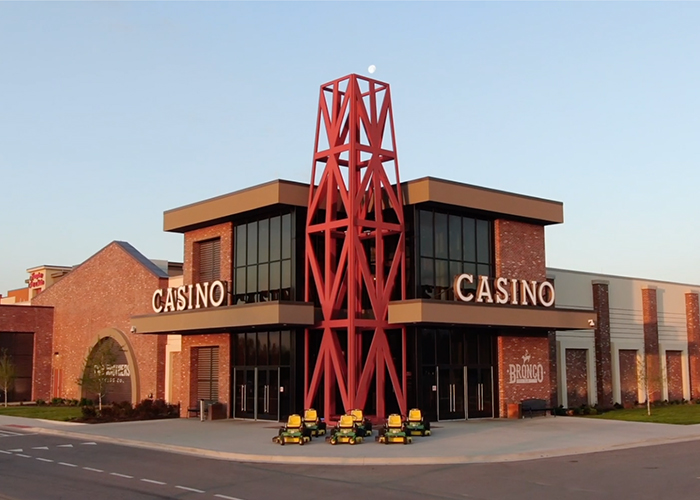 Kansas Crossing Exterior of Casino