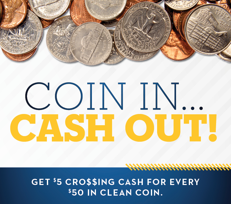 Coin In Cash Out